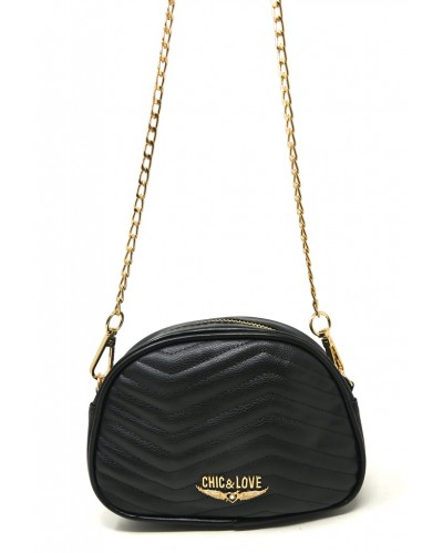 BOLSO MUJER BLACK CHIC & LOVE CL0006