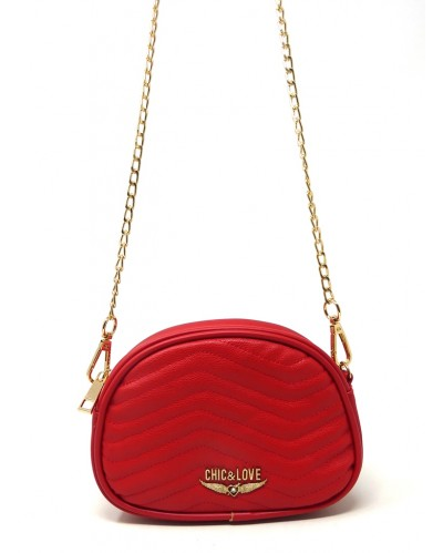 BOLSO MUJER RED CHIC & LOVE CL0001
