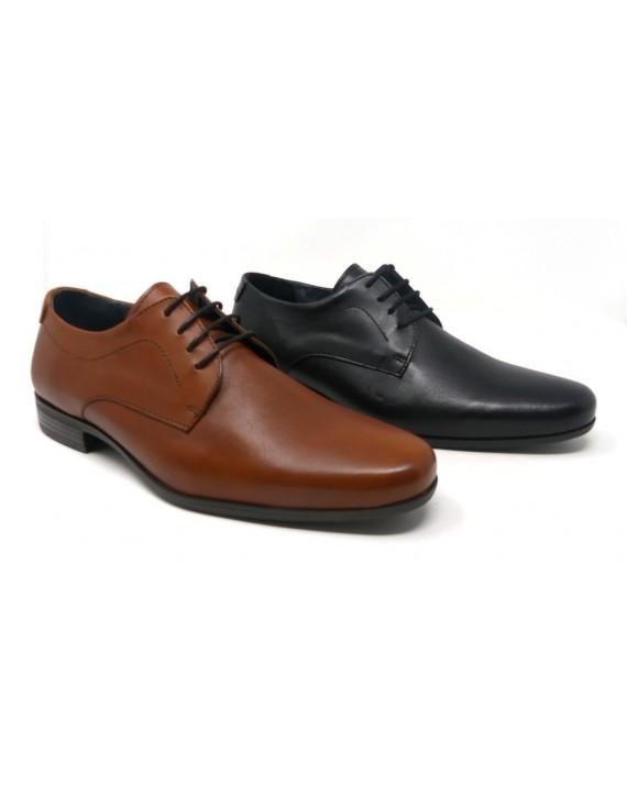 8f2ae2ee ZAPATO VESTIR HOMBRE PIEL CORDONES ESPIEL 24H E1514 - Zapatos Carla