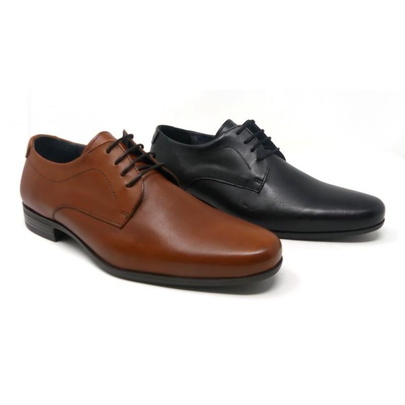 7d32a7a0425 ZAPATO VESTIR HOMBRE PIEL CORDONES ESPIEL 24H E1514 - Zapatos Carla