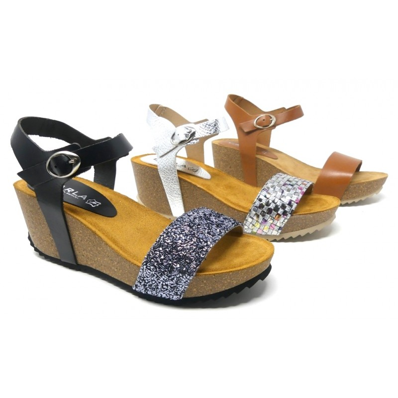 Mujer Carla 005 Cuña Sandalia Zapatos Bio Cebu Rj35al4q SVpqzMGU